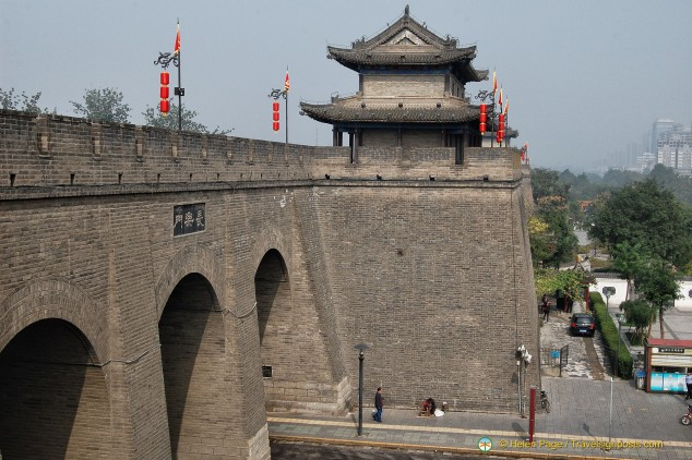 Xi'an City Wall Rampart