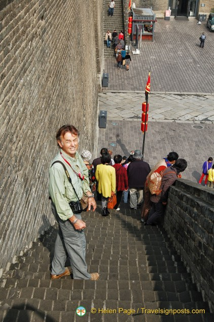 Xi'an City Wall Steps
