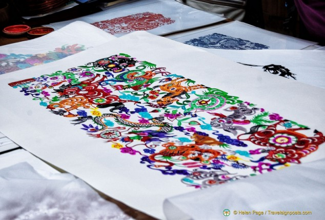 Chinese paper-cuts