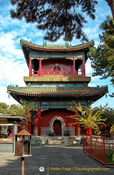 Puning Temple Pavilion