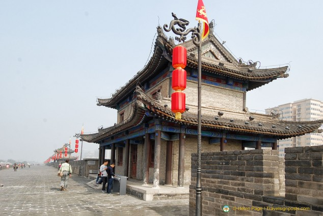 Xi'an City Wall Watch Tower